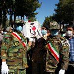 تشییع پیکر جانباز شهید محمدی